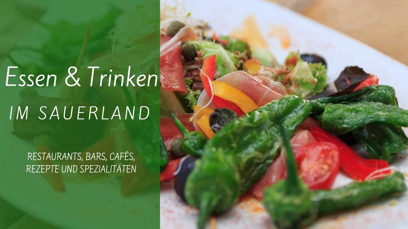 Trinken und Essen im Sauerland