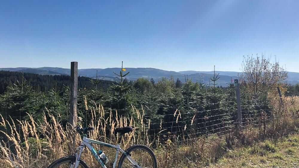 Auf einer Fahrradtour durch das Sauerland