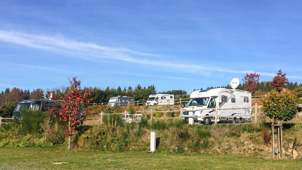 Camping im Sauerland mit Wohnmobil, Wohnwagen oder Zelt