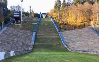 Die Mühlenkopfschanze in Willingen ist die grösste Sprungschanze der Welt