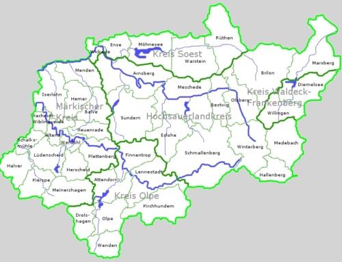 Wo liegt das Sauerland und welche Orte gehören dazu?