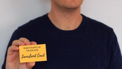 Sauerland Card zum Sparen beim Urlaub im Sauerland