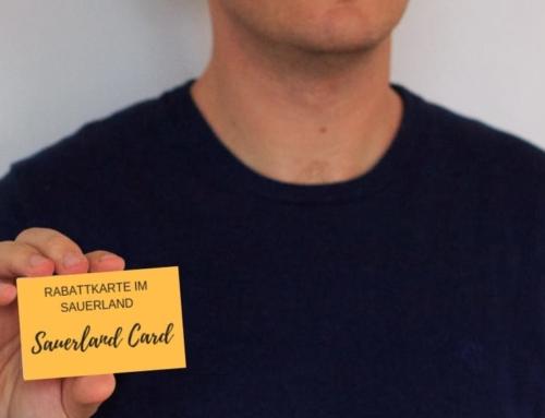 Sauerland Card: Rabatte beim Urlaub im Sauerland