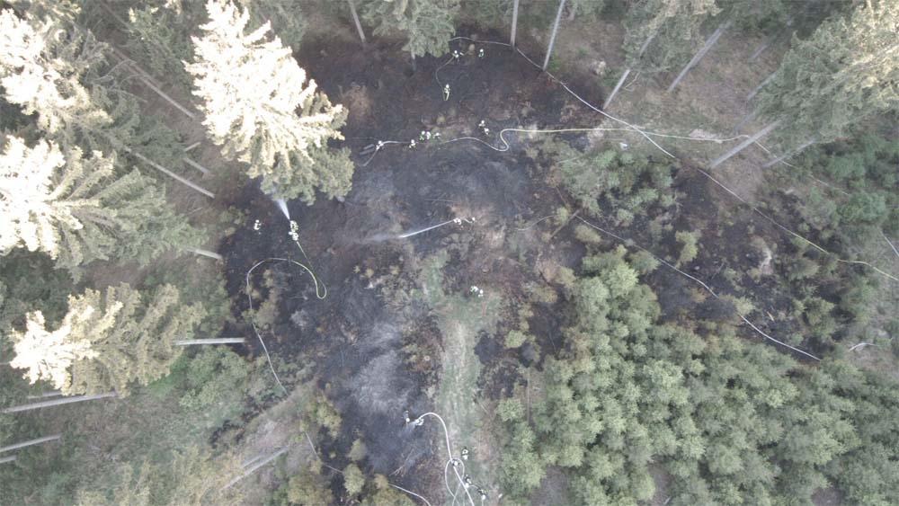 Waldbrandeinsatz