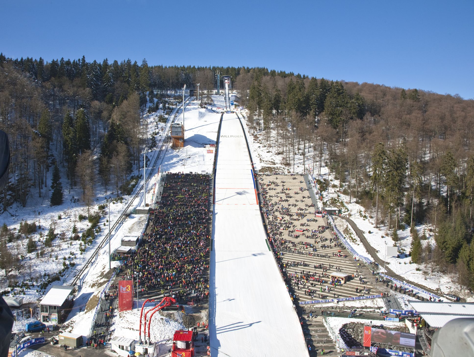 Die Mühlenkopfschanze im Winter ©Tourist-Information Willingen