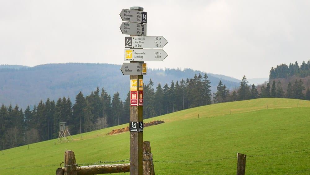 Fernwanderwege im Sauerland