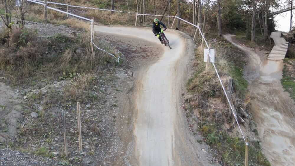 Mountainbiker in Winterberg