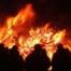 Ein Osterfeuer im Sauerland Beschreibung seiner Bedeutung