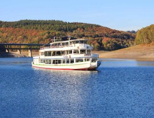 Schifffahrt auf den Seen im Sauerland