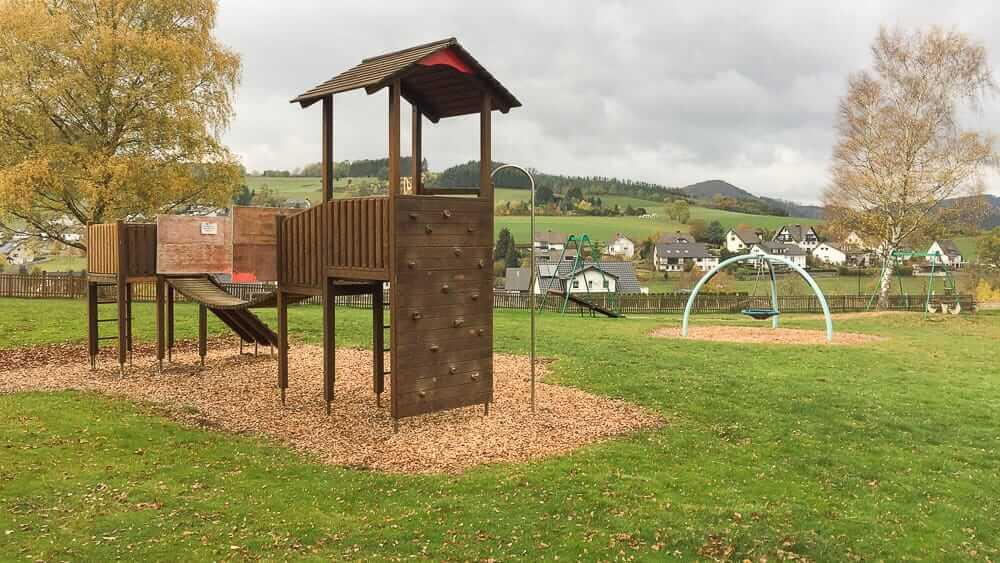 Der Abenteuerspielplatz in Wenholthausen ein Ausflugsziel im Sauerland