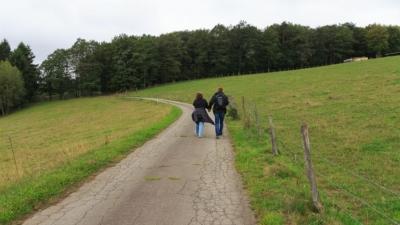 Spaziergang zu zweit während Corona im Sauerland