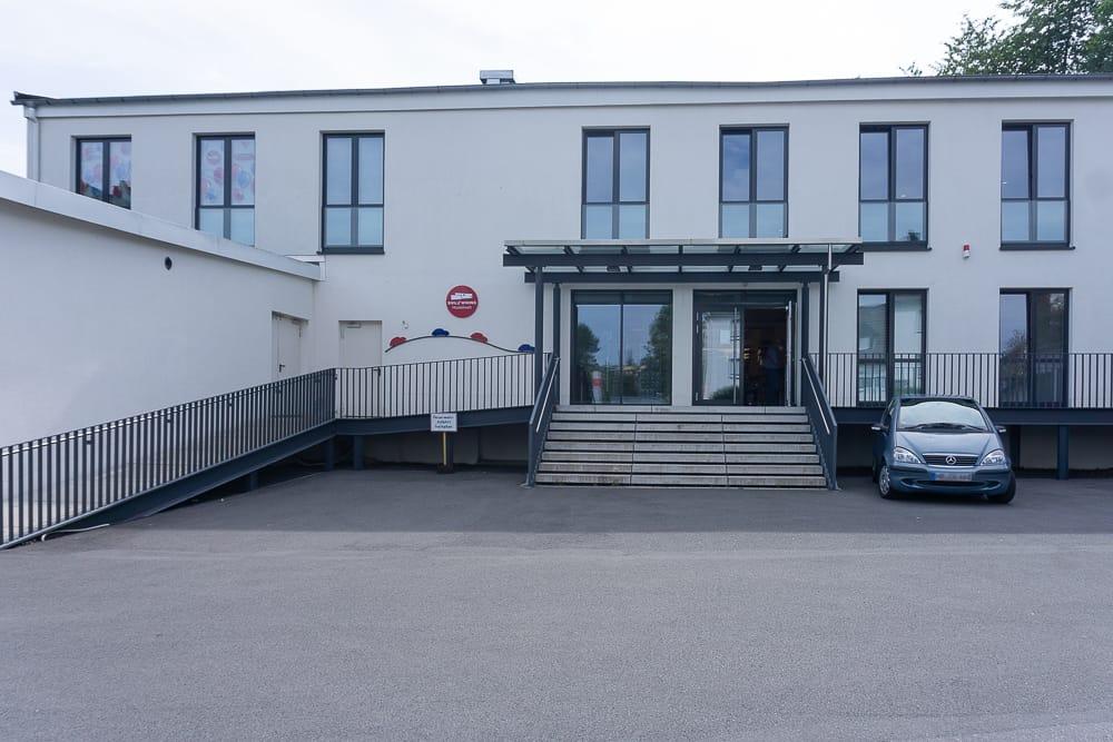 Eingang vom siku Museum