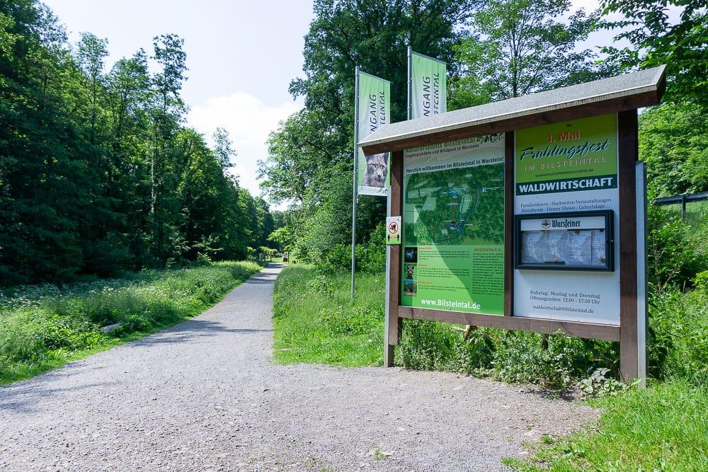 Zu Besuch im Bilsteintal Wildpark in Warstein
