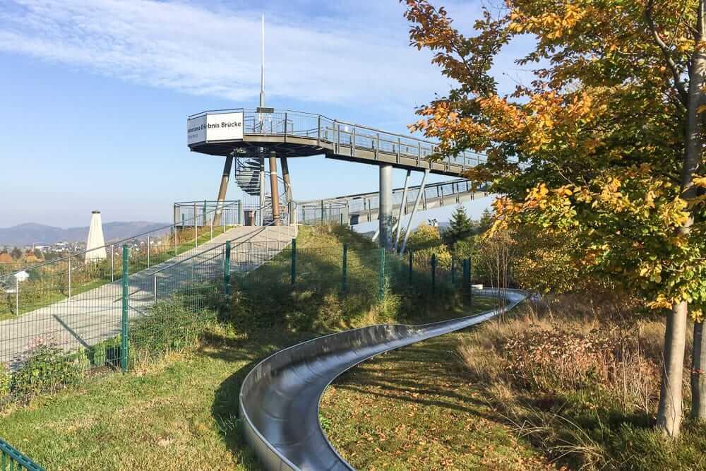 Die Panorama Erlebnisbrücke in Winterberg