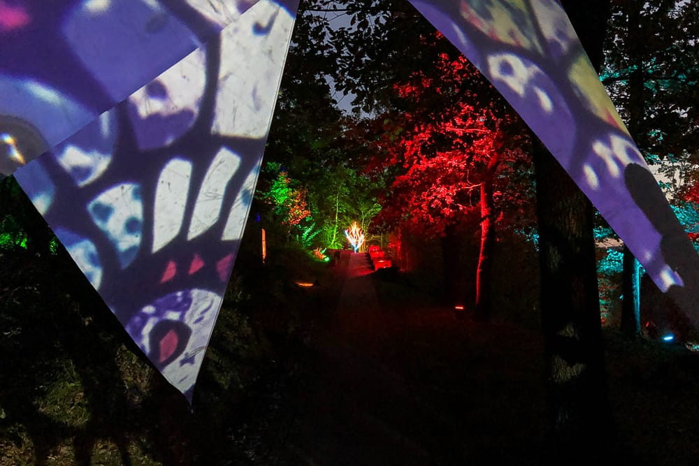 Sauerlandpark als Ausflugsziel im Sauerland Herbst