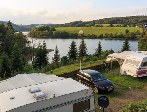 Gut Kalberschnacke: Schöner Campingplatz am Listersee