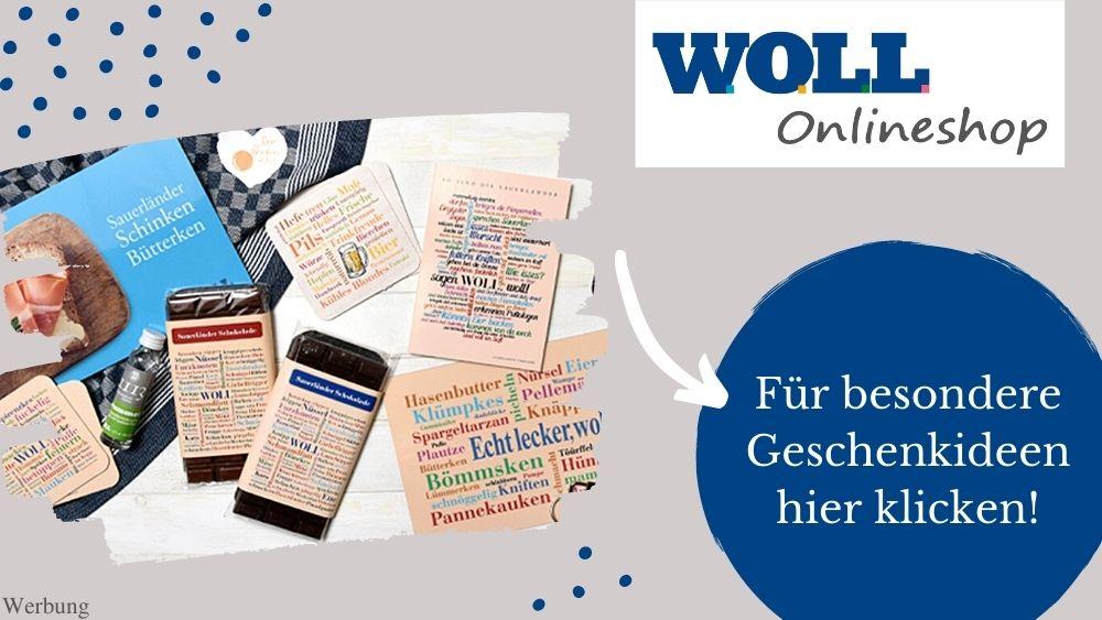 Sauerland Geschenke Ideen im WOLL Onlineshop