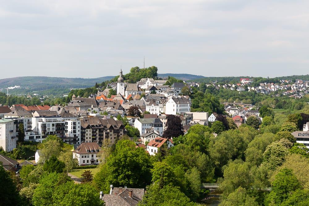 Arnsberg die zweitgrößte Stadt im Sauerland