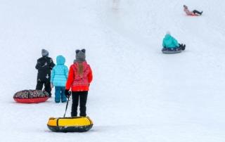 Aktivitäten im Sauerland Schnee