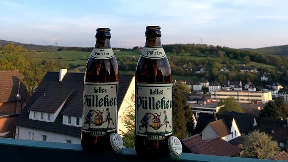 Das Pülleken - ein Bier oder einfache eine kleine Flasche eines der Sauerland Wörter