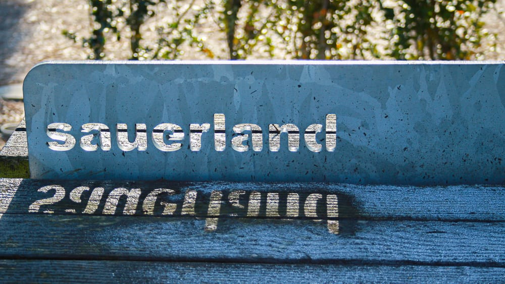 Sauerland Wörter