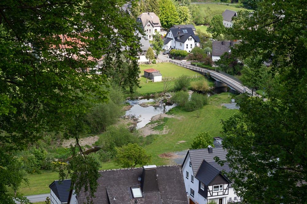 Wenholthausen Spaziergang im Wennetal